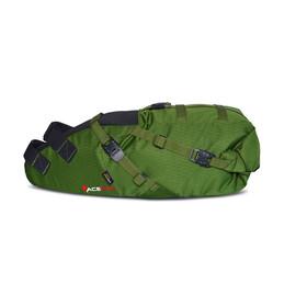 Acepac Saddle Bag Fietstas groen/zwart